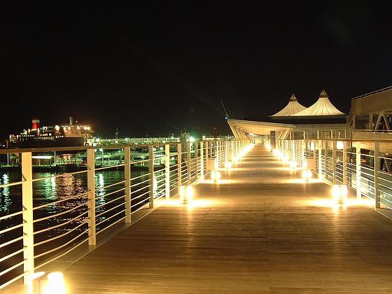 観光港 夜景