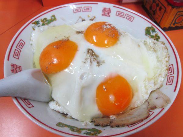 焼豚玉子飯 白龍