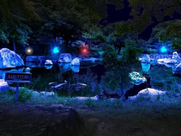 二ノ丸史跡庭園のアクア・フェリーチェ