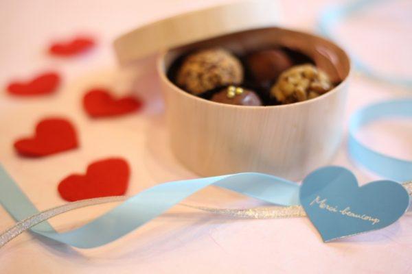 手作りのチョコレート