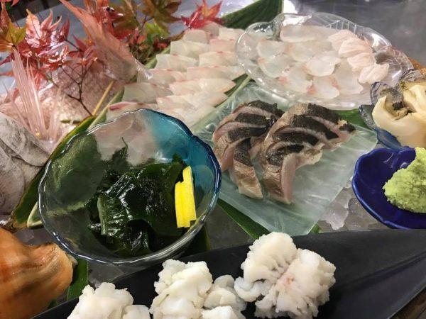 今治の海鮮料理