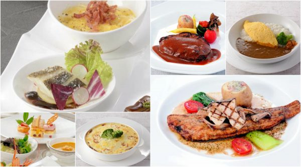 lunch in imabari kokusai hotel
