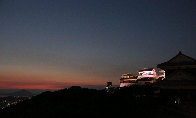night of matsuyama castle