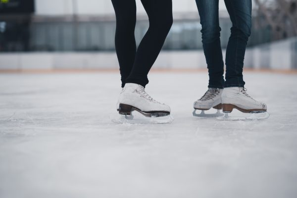 Friends on skates