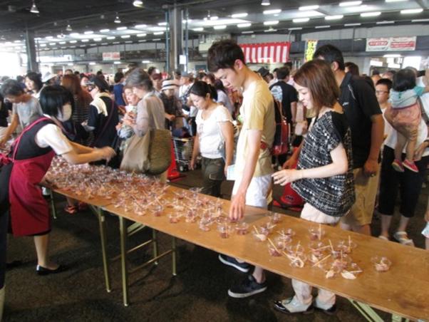 2016年も開催!第14回三津の朝市「旬・鮮・味まつり」を楽しむ♪