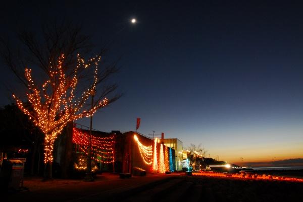 シーサイドロマンチッククリスマスでプロポーズを