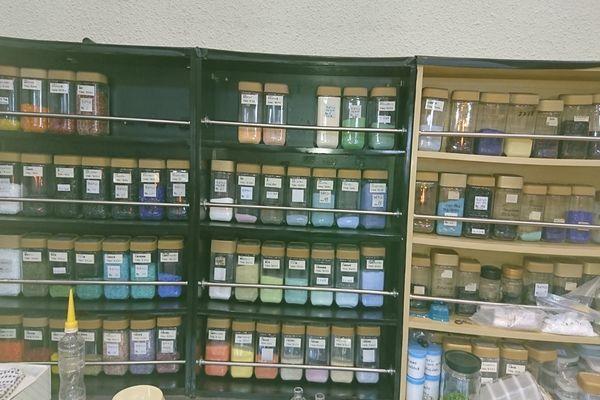 ガラスの色の種類