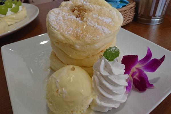 ハニー&ホイップパンケーキ