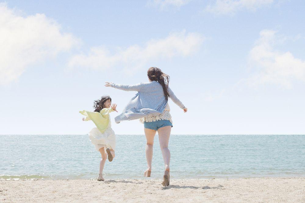 女性 海 ストレスフリー