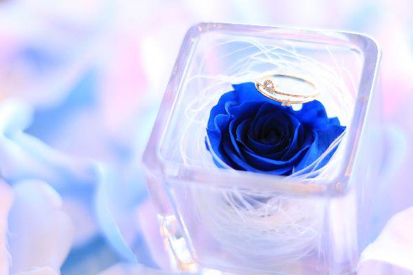 指輪 バラ