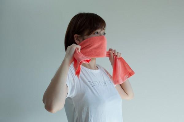 マスク タオル