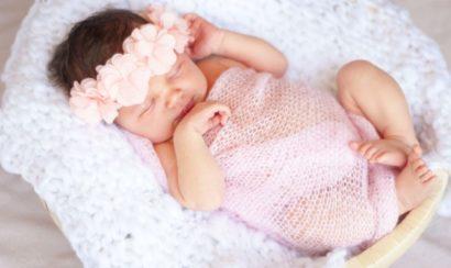 新生児 記念写真